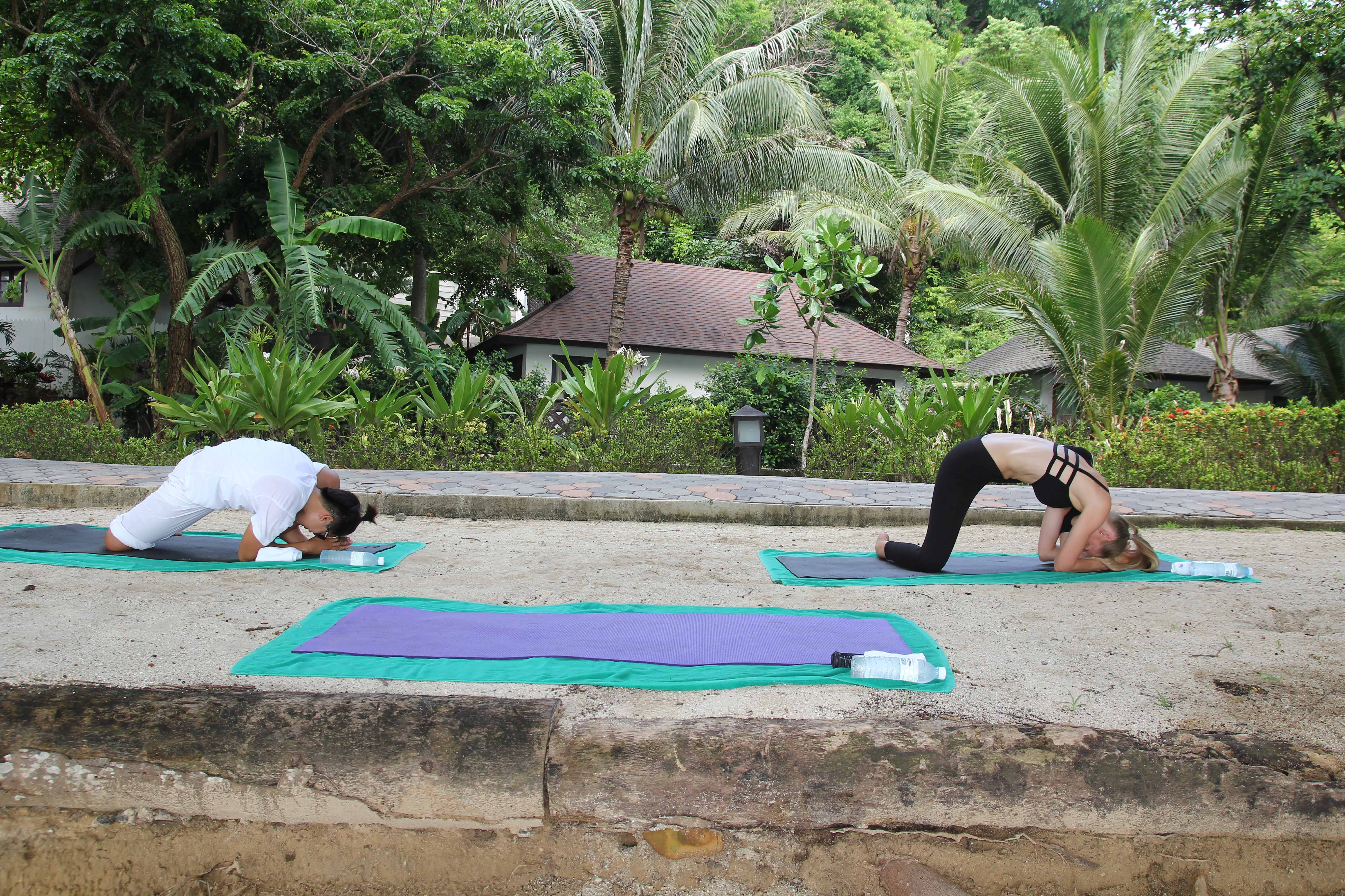 Yoga course at Holiday Inn - KohPhiPhi, Thailand