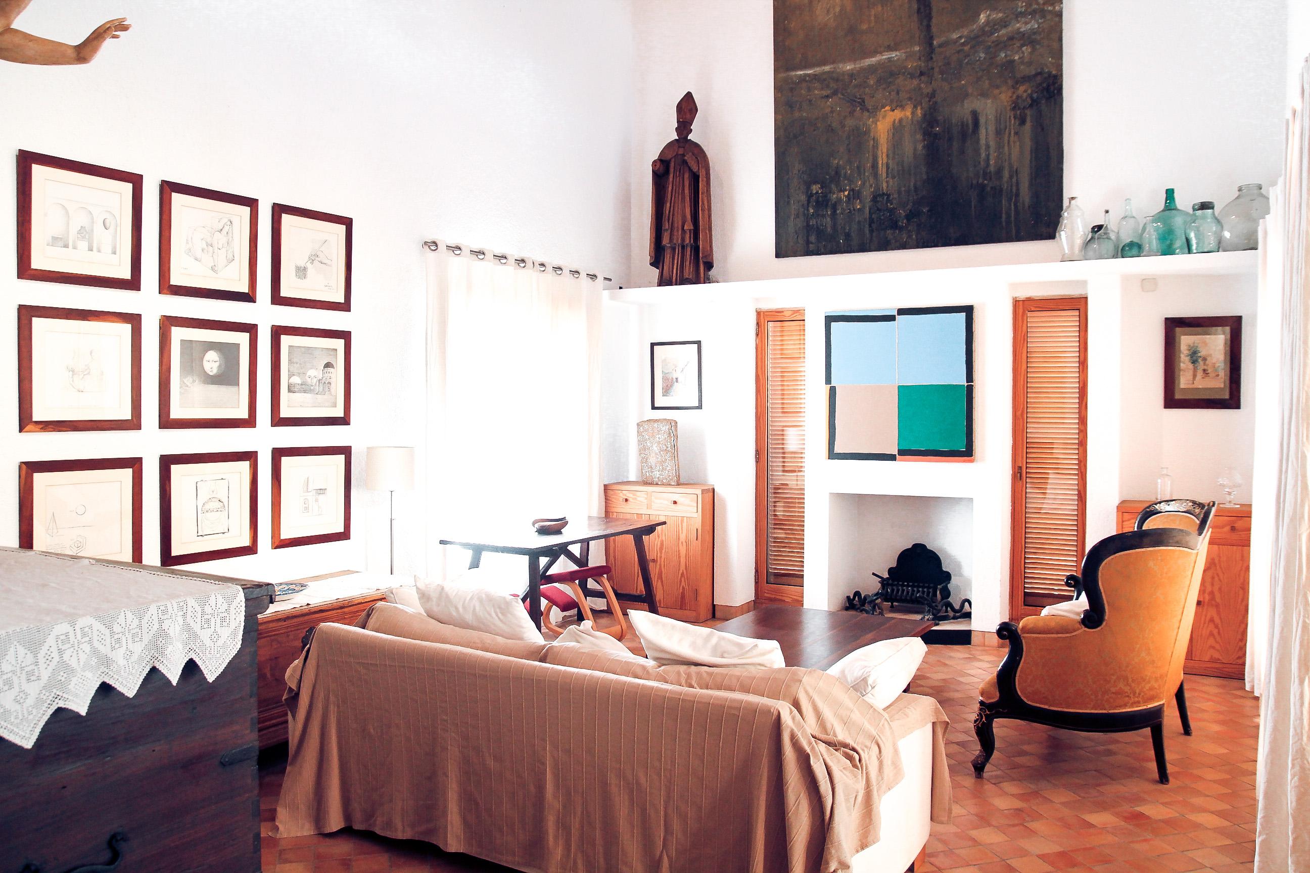 Zwei Wohnzimmer
