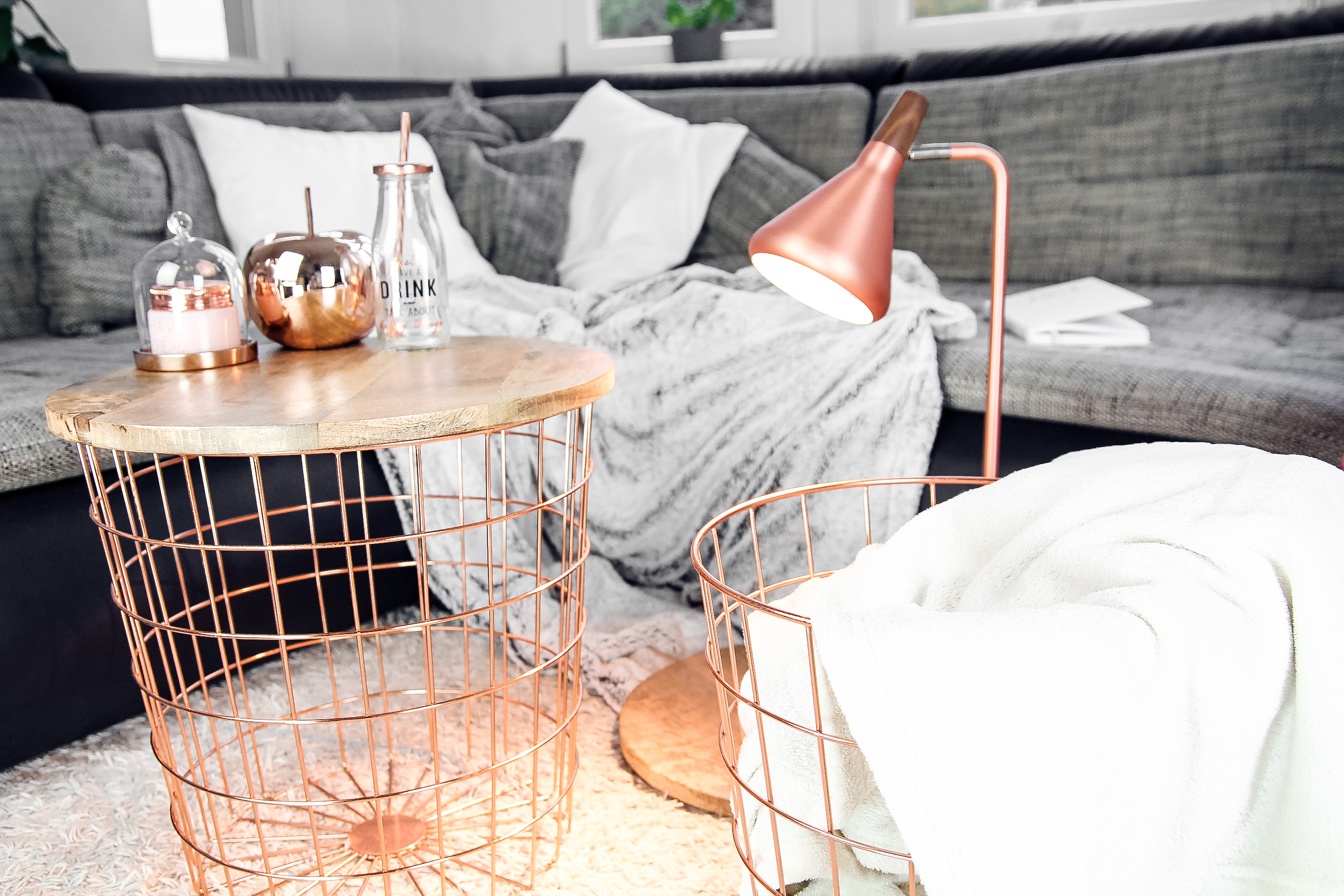 Interior trendfarbe ros gold kupfer blog for Zimmer dekoration rosegold