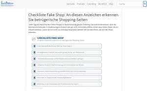 Fake Shops online erkennen